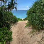 紫外線の強い沖縄